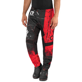 ONeal Element - Pantalón largo - Shred rojo/negro
